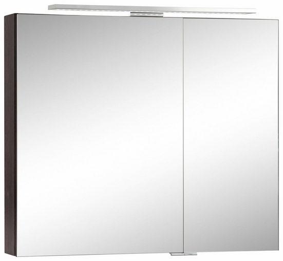 MARLIN Spiegelschrank »Sola 3130« mit LED Beleuchtung, Breite 80 cm, vormontiert