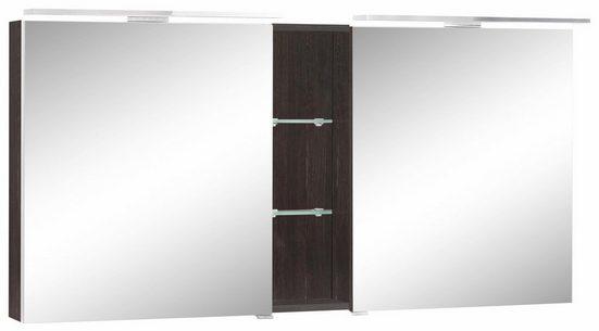 MARLIN Spiegelschrank »Sola 3130« mit LED Beleuchtung, Breite 140 cm, vormontiert