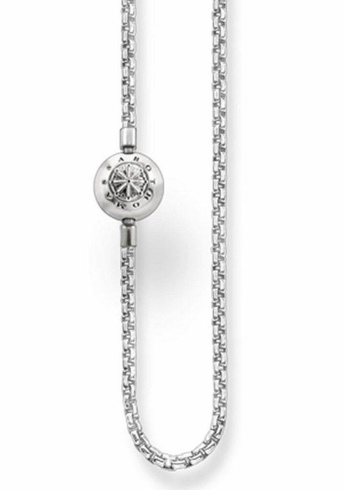 THOMAS SABO Silberkette »Karma Bead, KK0001-001-12« | Schmuck > Halsketten > Silberketten | THOMAS SABO