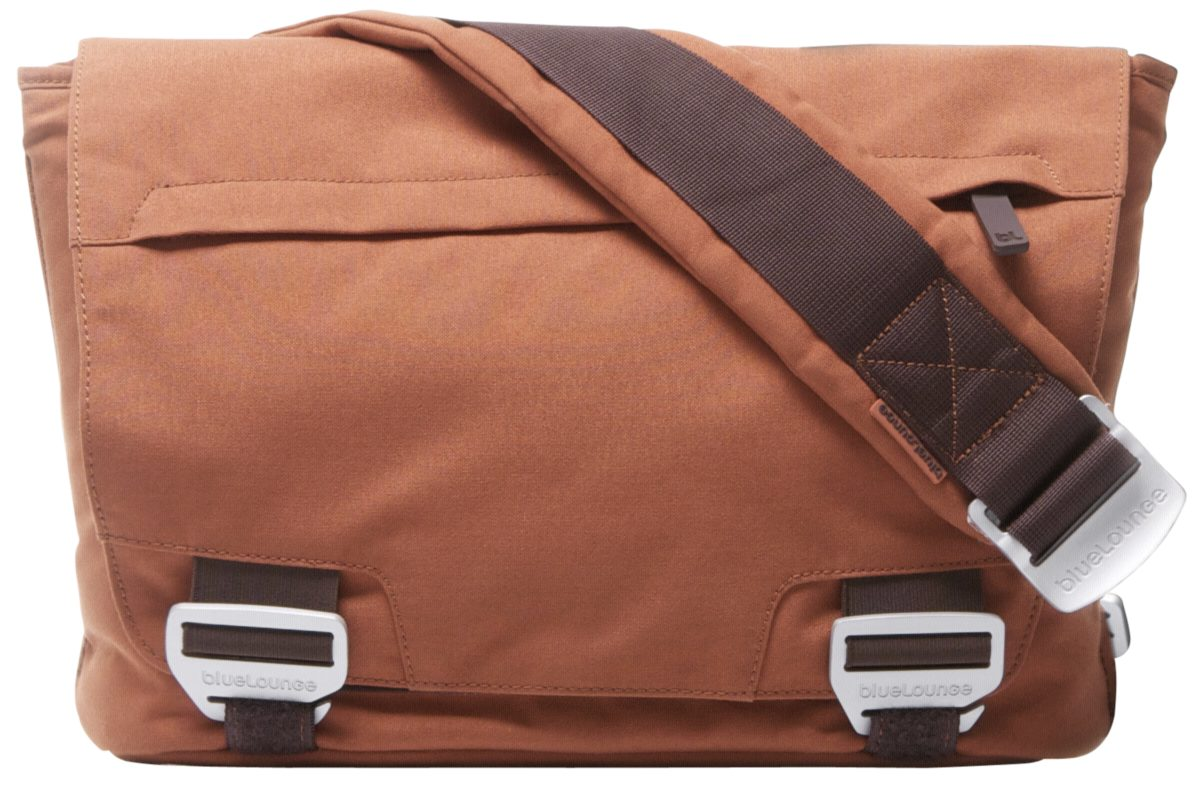Bluelounge Notebook-Taschen »Eco-Friendly Bags Small Messenger Bag, Rust«