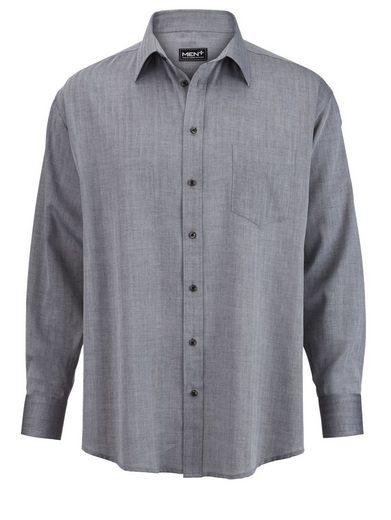 Men Plus by Happy Size Hemd mit verkürzter Ärmellänge