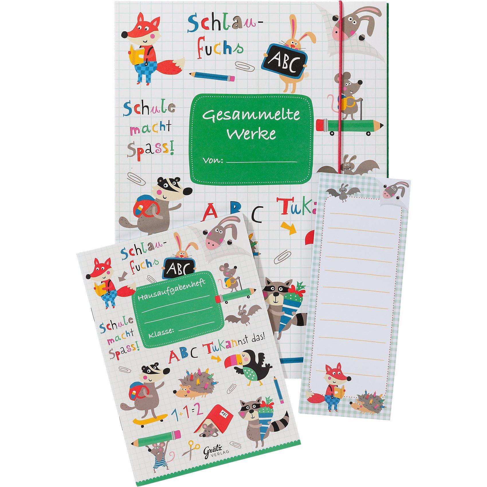 Grätz Verlag Schulset ABC, 3-tlg.
