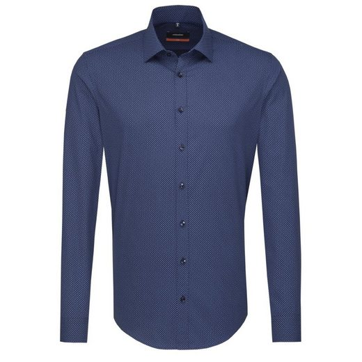 Seidensticker Business Shirt Slim, Kent-collar