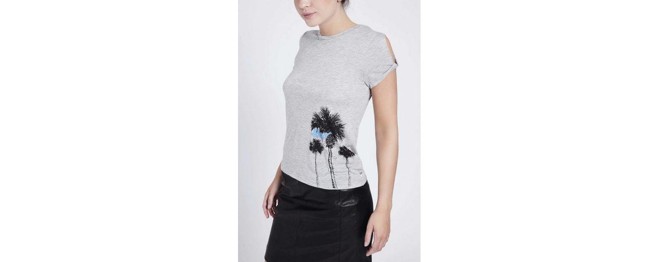 khujo T-Shirt JOYCE PALMTREE PRINT Angebote Zum Verkauf Kostenloser Versand Spielraum Kosten Billig Verkauf Heißen Verkauf 2Fuhxo