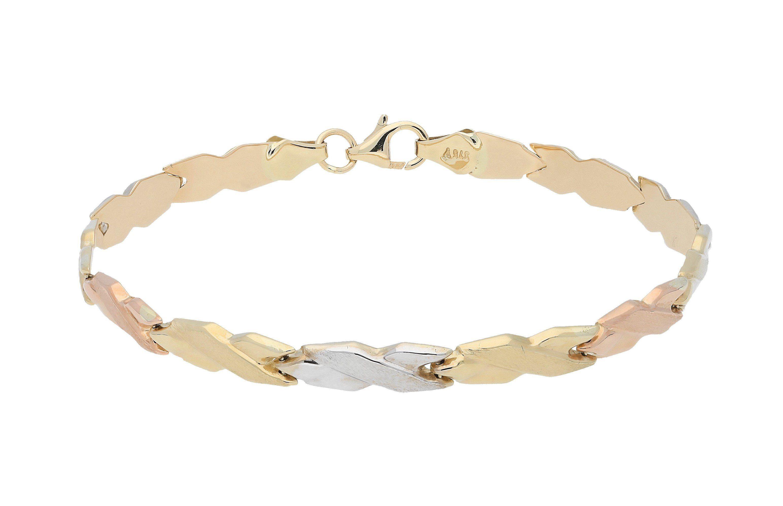 Firetti Armband »dreifärbig«