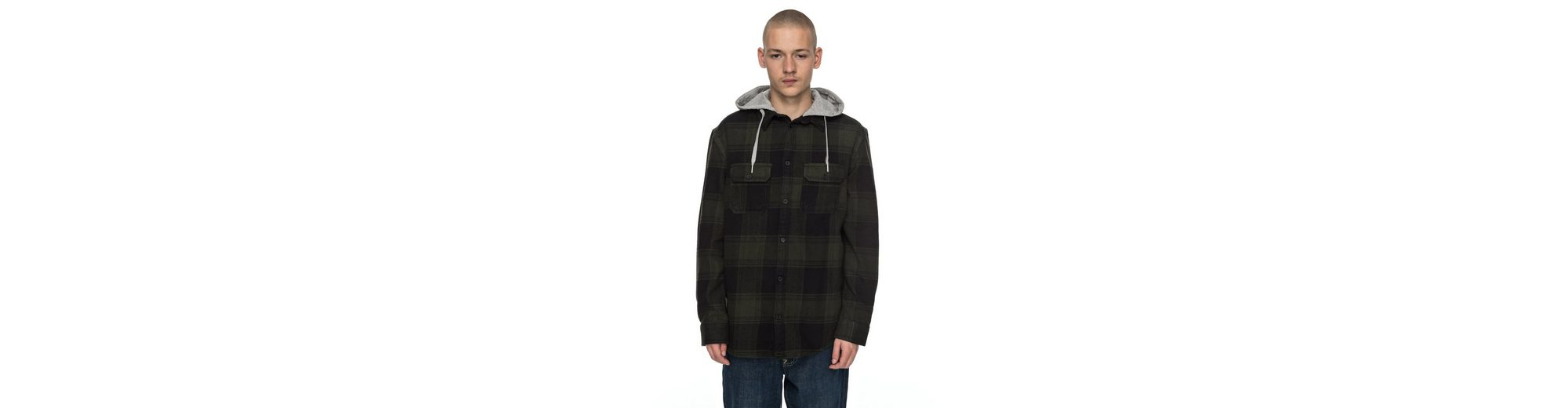 DC Shoes Langarm-Hemd mit Kapuze Runnel Flannel Äußerst Billig Offiziellen Rabatt Amazon Original- EWVYtvwyt
