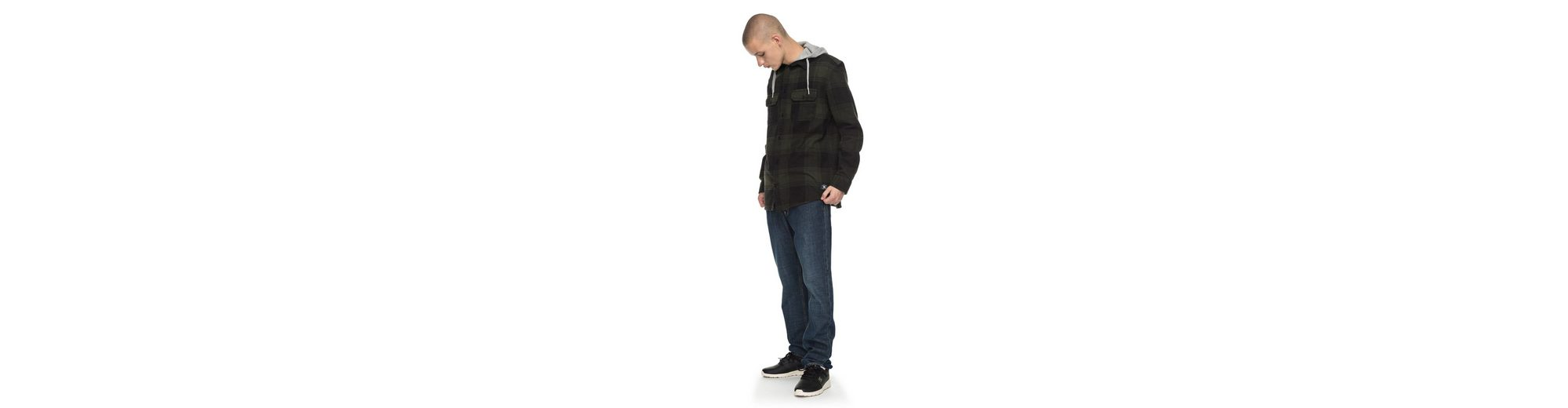 DC Shoes Langarm-Hemd mit Kapuze Runnel Flannel Äußerst Billig Offiziellen Rabatt Amazon Original- EWVYtvwyt