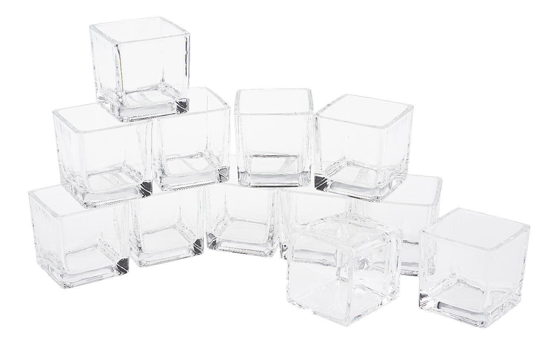"VBS Teelichtgläser ""Cube"" 12 Stück"