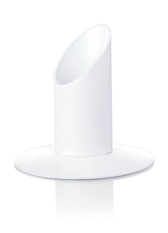WIEDMANN Kerzenhalter Metall Weiß