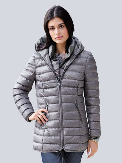 Alba Moda Quilting Jacket With Hood
