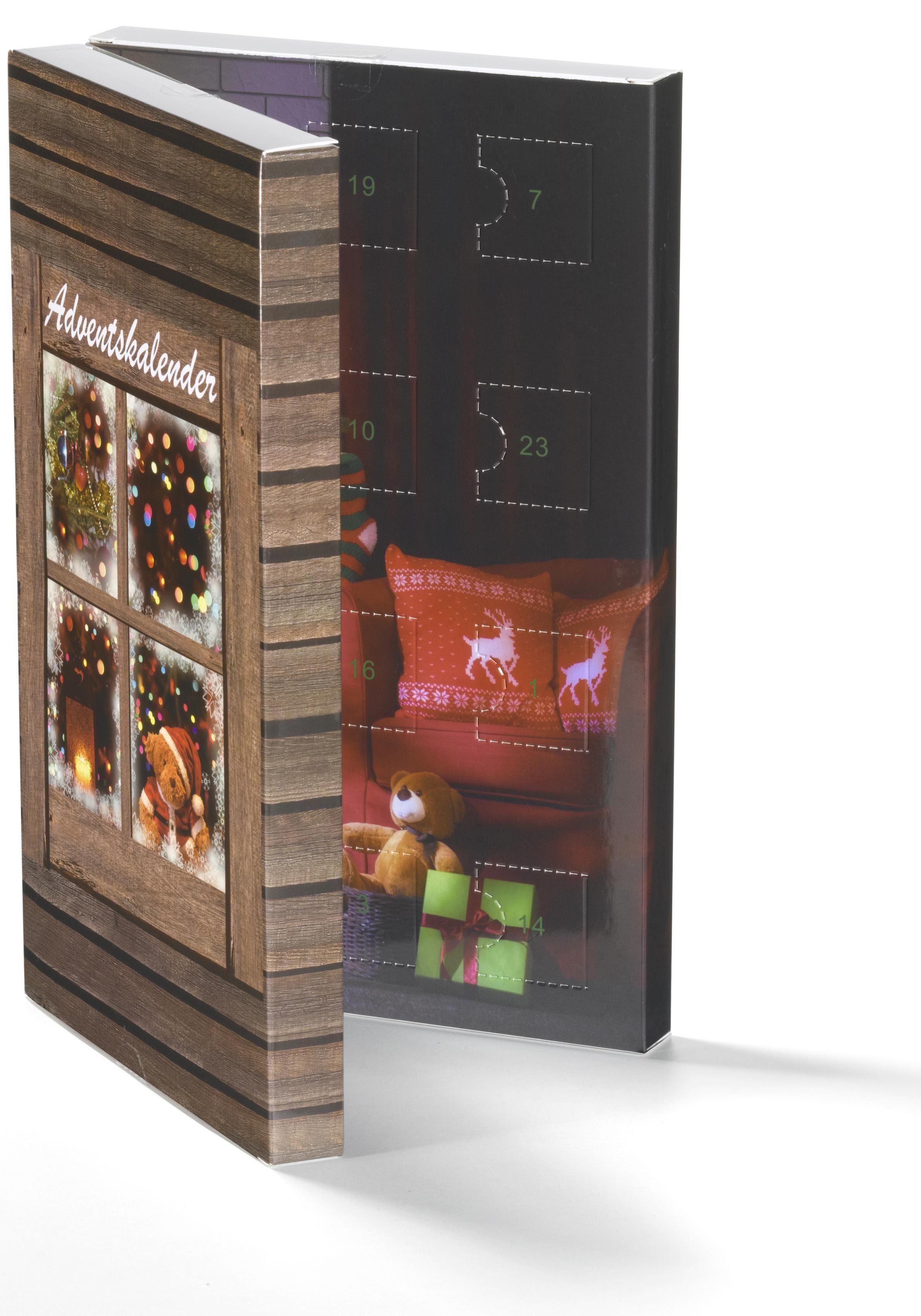 Smart Jewel Schmuck-Adventskalender »Beads« (Set, 24 tlg), Geschenkidee für die Adventszeit