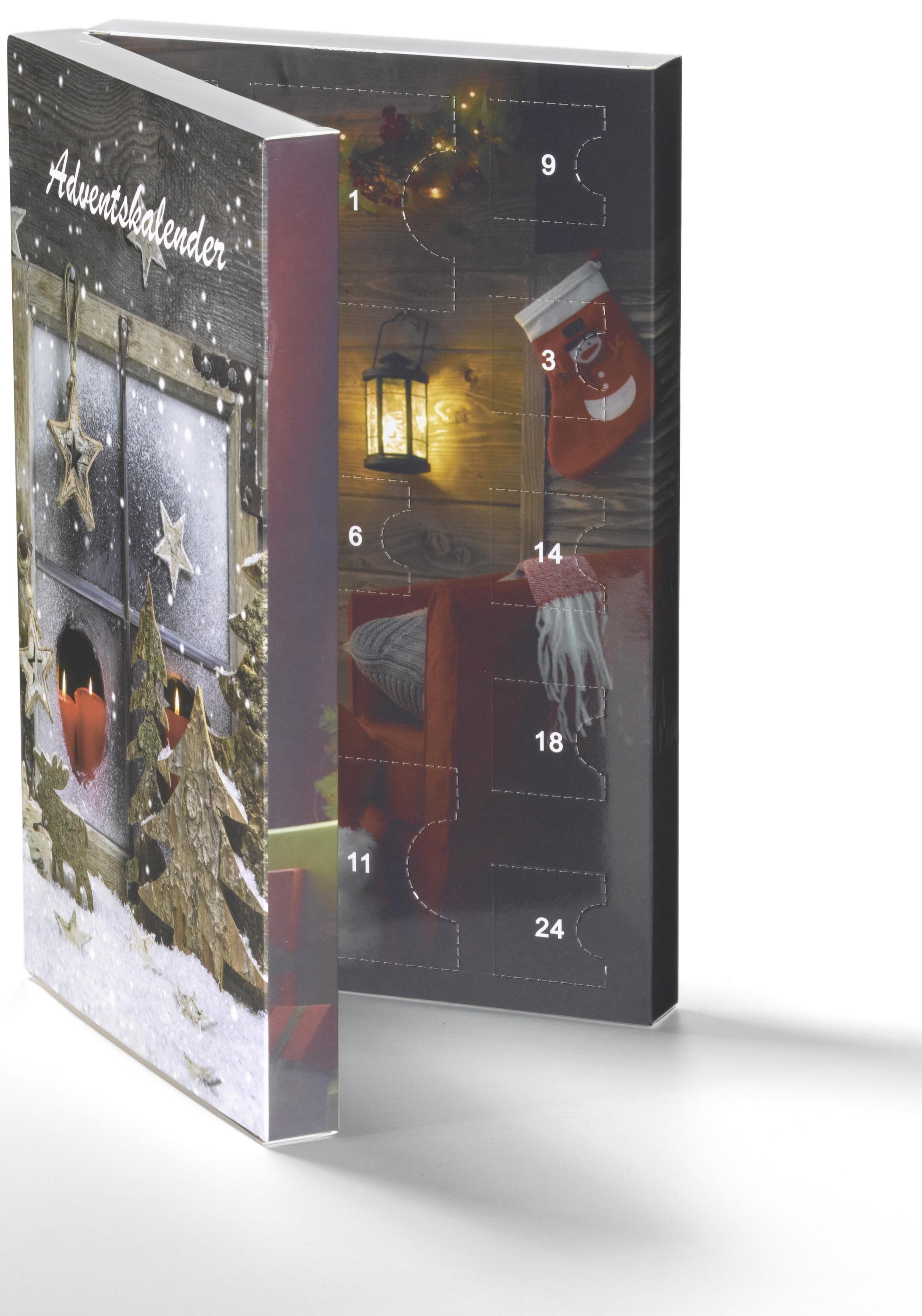 Smart Jewel Schmuck-Adventskalender »Watch« (Set, 24 tlg) Geschenkidee für die Adventszeit
