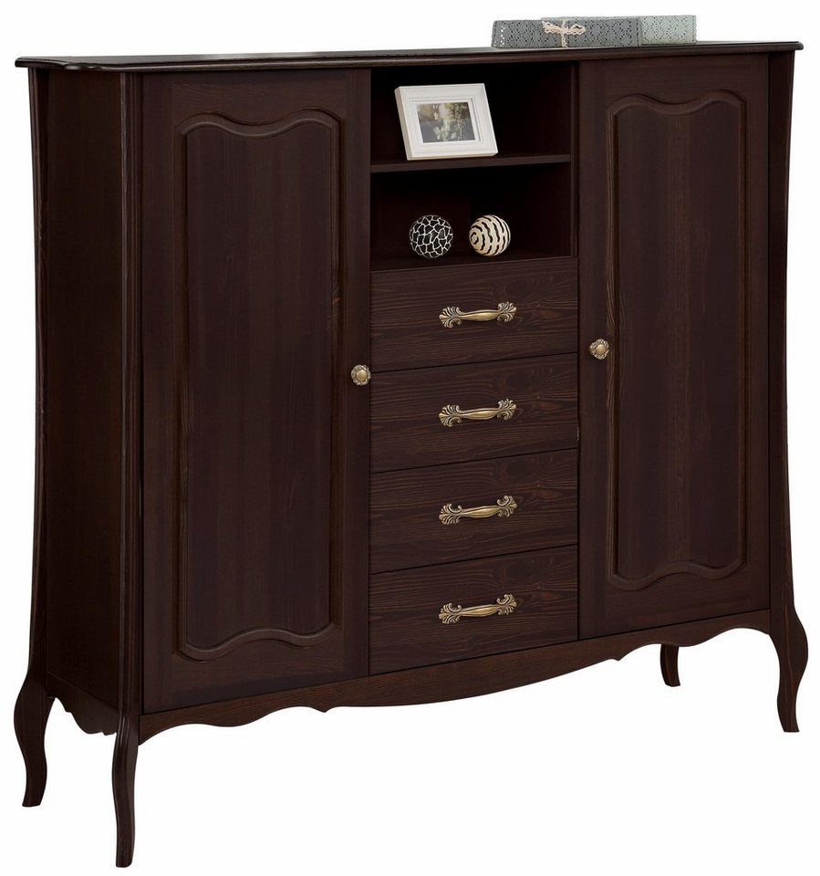 Home affaire Highboard »Lebo«, mit Softclose, Breite: 155 cm online ...