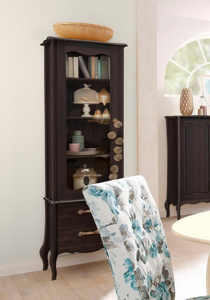 home affaire vitrine lebo mit softclose breite 61 cm online kaufen otto. Black Bedroom Furniture Sets. Home Design Ideas