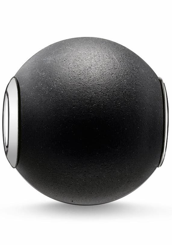 THOMAS SABO Bead »Karma Bead, K0001-023-11« mit Obsidian