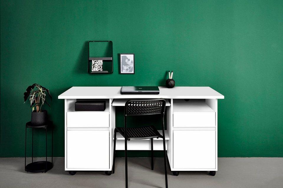 Jahnke schreibtisch cs 150 r online kaufen otto for Schreibtisch 150