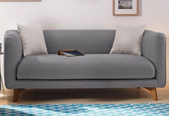 Home affaire 2-Sitzer »Maja«, in skandinavischem Design mit 2 Zierkissen