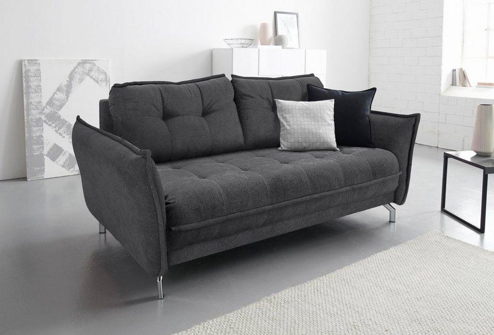 Inosign Sofa Inklusive Armlehnenverstellungmit Steppung Online