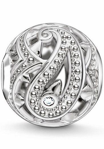 THOMAS SABO Bead »Karma Bead, Paisley-Design, K0216-643-14«, mit Zirkonia