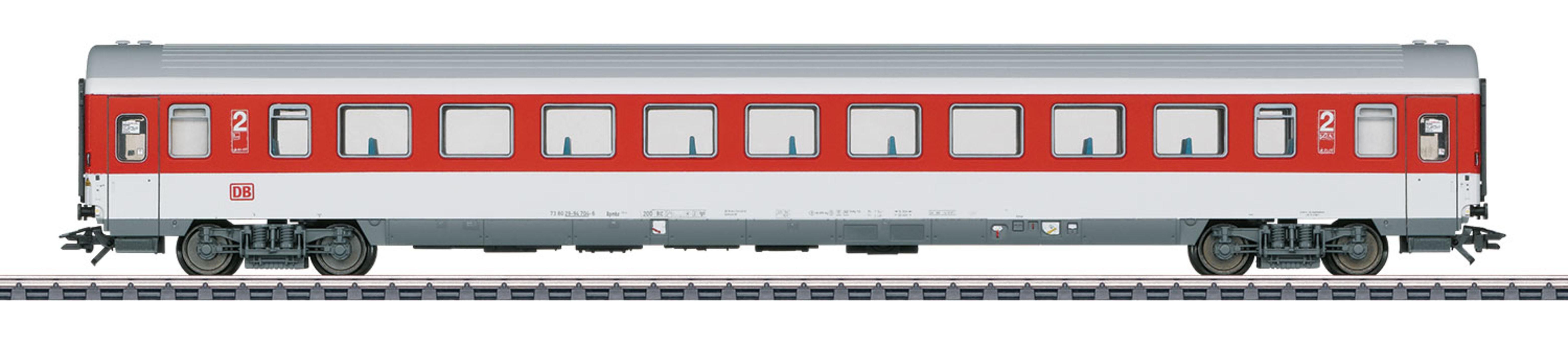 Märklin Personenwagen, Spur H0, »Großraumwagen, 2. Klasse, DB AG, Wechselstrom - 43761«