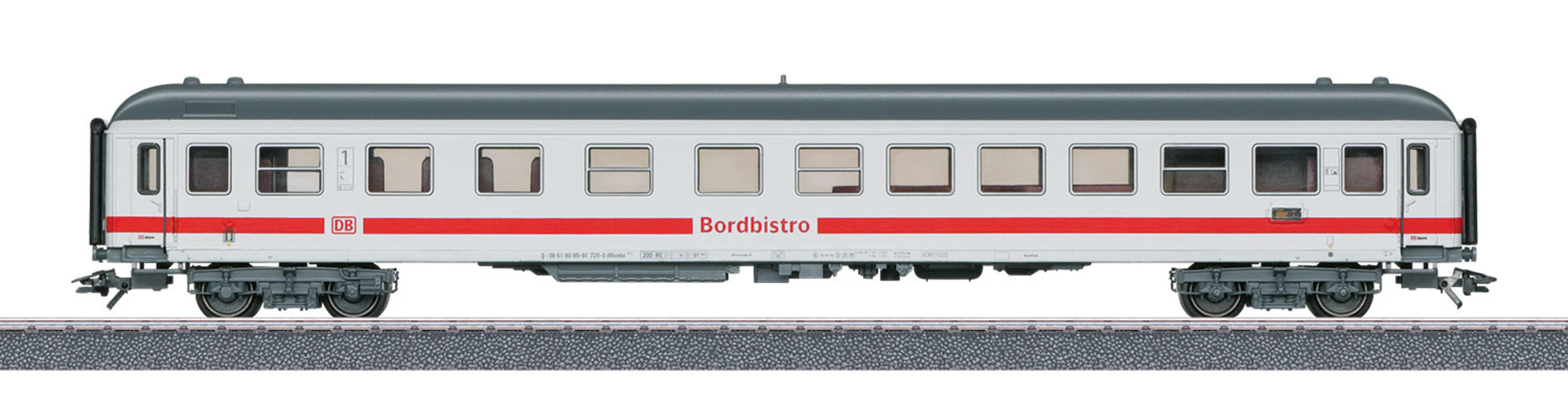 Märklin Personenwagen, Spur H0, »IC Schnellzugwagen Bistro-Café DB AG, Wechselstrom - 40502«