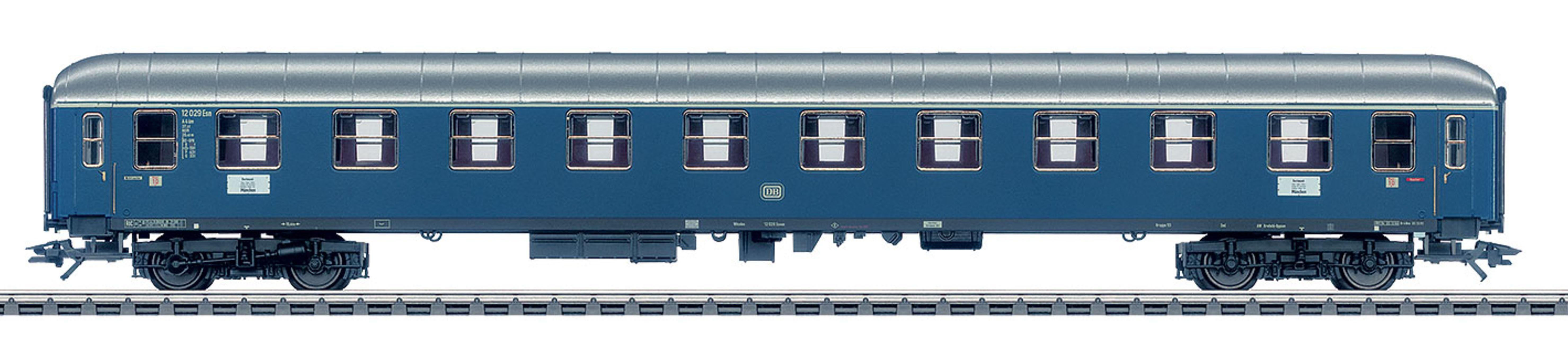 Märklin Personenwagen, Spur H0, »Schnellzugwagen, 1. Klasse, DB, Wechselstrom - 43910«