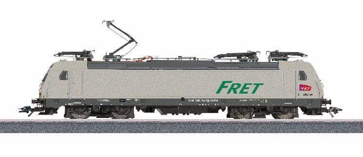Märklin Elektrolok m. Licht u Sound, Spur H0, »Güterlokomotive BR E 186, SNCF, Wechselstrom - 36625«
