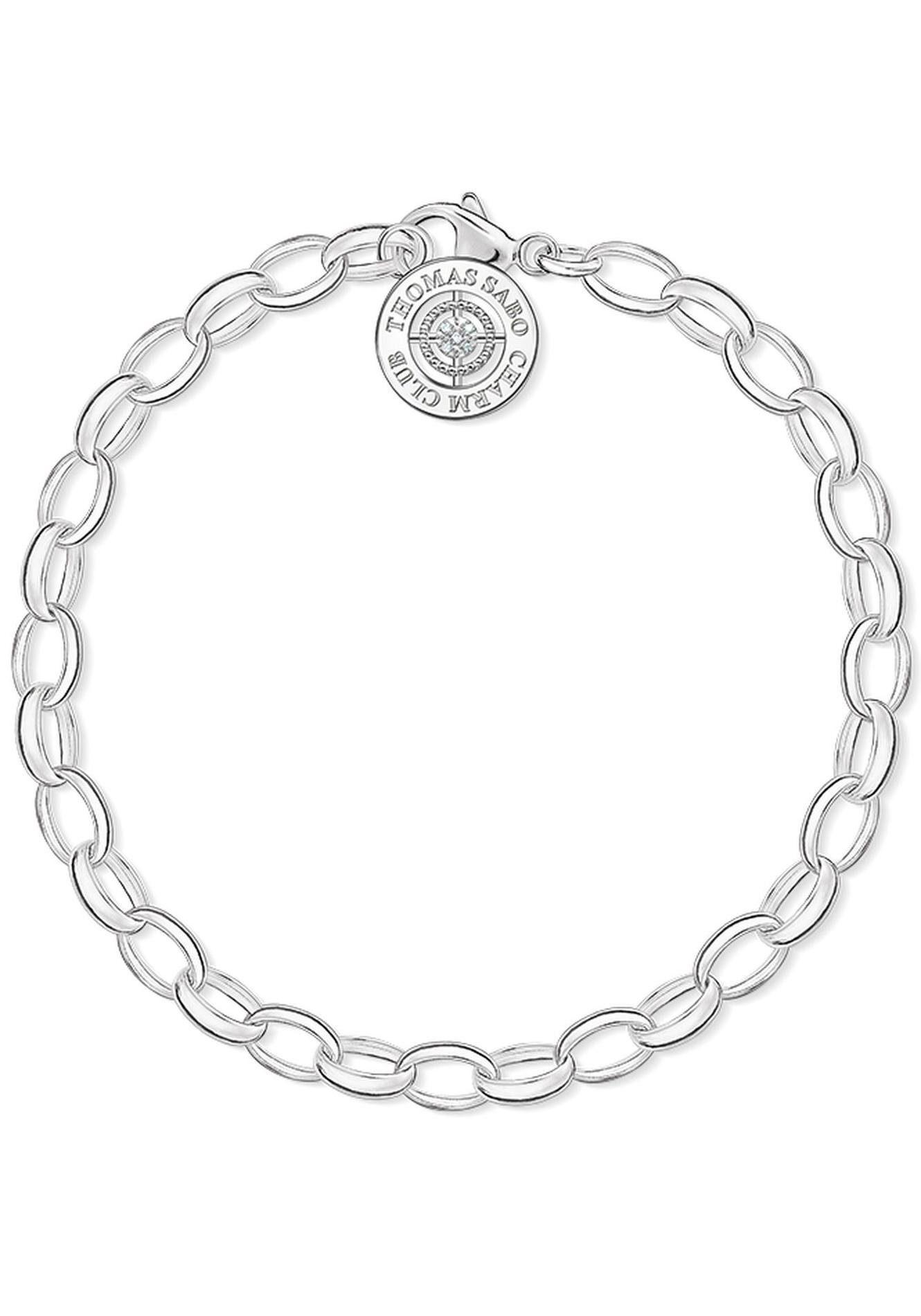 THOMAS SABO Charm-Armband »DCX0001-725-14-L, 14-M, 14-S«