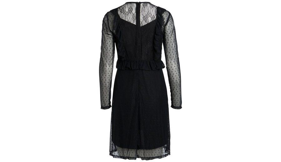 Verkauf Für Billig Pieces Langärmeliges Mesh- Kleid Billig Großhandelspreis yPHhjKM4