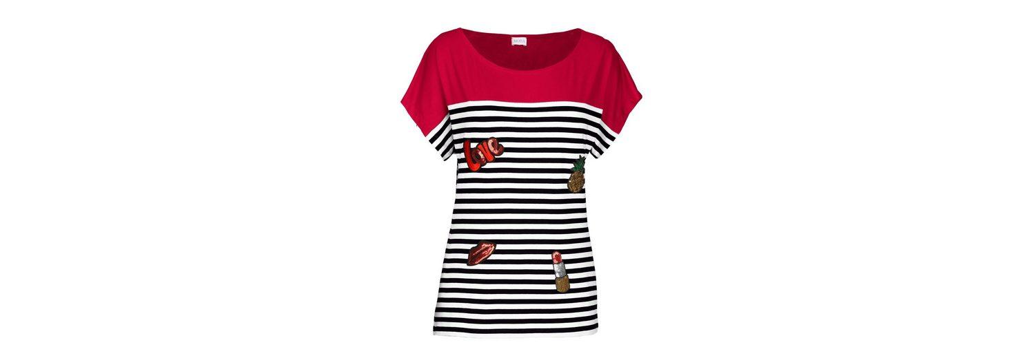 Mona Shirt mit modischen Patches Online-Shopping-Freies Verschiffen Factory Outlet Günstig Online Rabatt Sneakernews sMHcnlMRk7