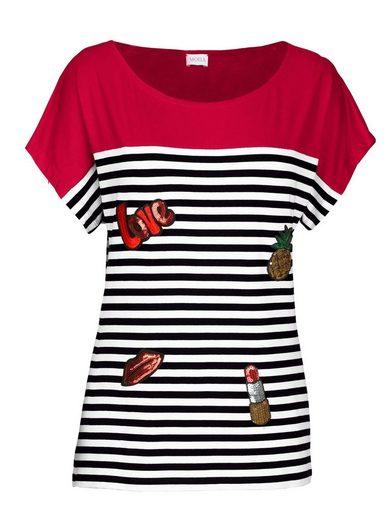 Mona Shirt mit modischen Patches