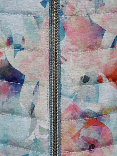 Mona Druckjacke in floralem Muster