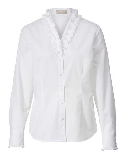 Mona Blouse With Frilly Ornamental