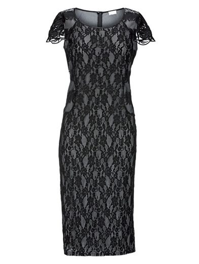 Mona Lace Dress With Contrast Lining