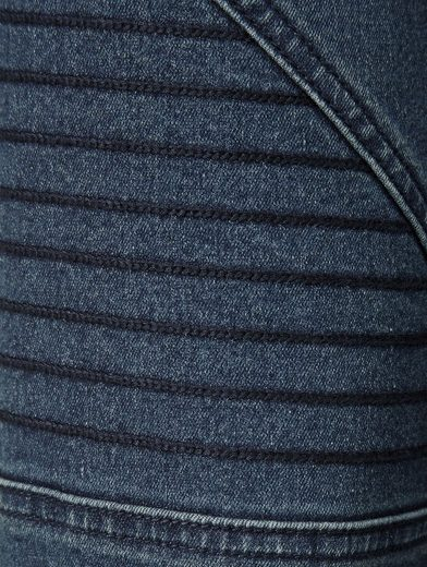 Mona Jeans With Decorative Stitching