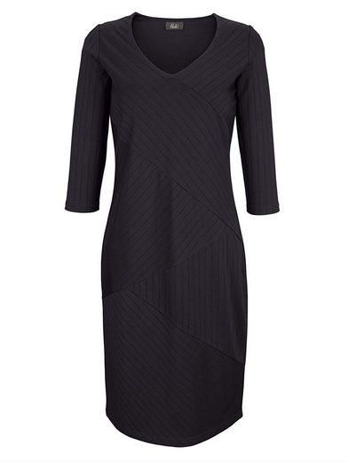 Paola Jerseykleid im eleganten Streifendessin