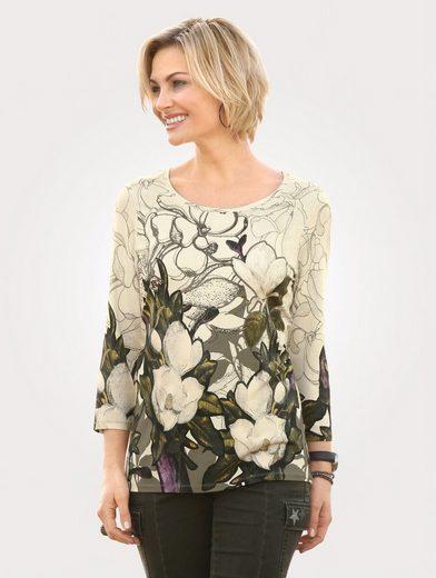 Mona Jerseyshirt mit allover Druck