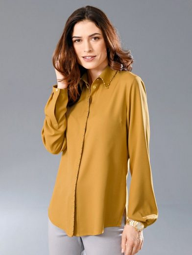 Paola Blouse With Round Rivets Embroidered