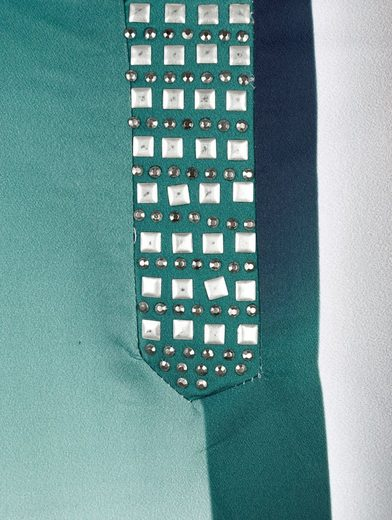 Paola Tunic With Steinchen- And Plate Decoration