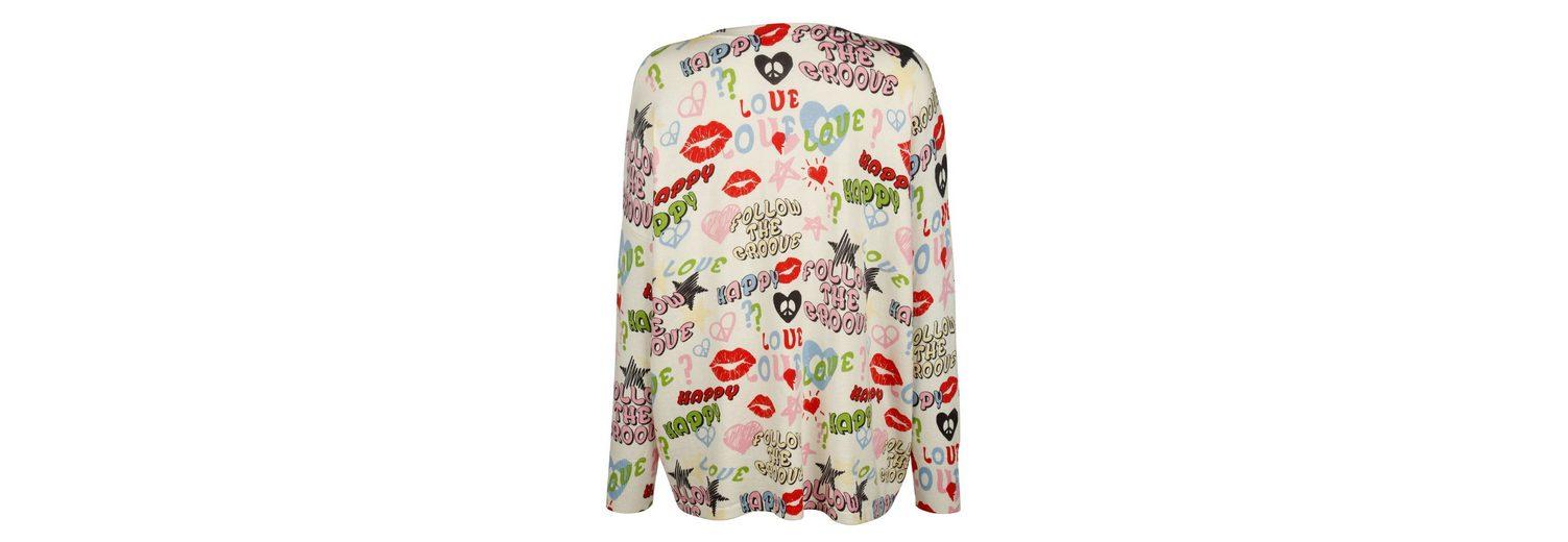 Alba Moda Pullover mit Allover-print Billig Verkauf Niedrig Versandkosten Spielraum Shop-Angebot Sauber Und Klassisch 3aREWM0