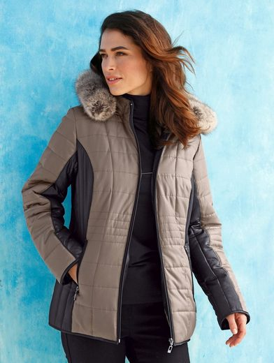 Paola Jacket In Contrasting Color Processing