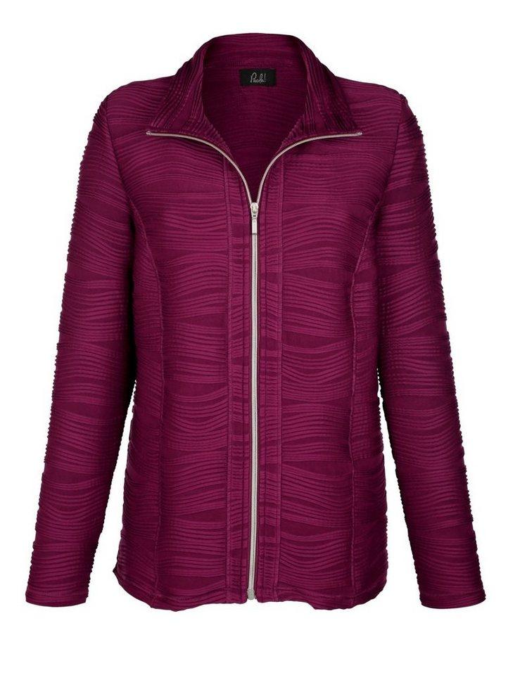 Paola Shirtjacke mit Reißverschluss online kaufen   OTTO 8980c24969
