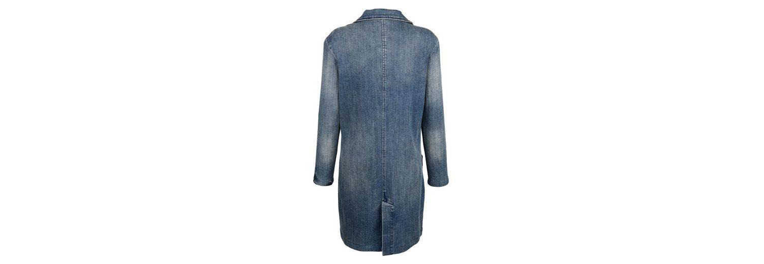 Alba Moda Lange Jeansjacke in modischer Waschung Verkauf 100% Authentisch Spielraum Neueste Spielraum Limitierte Auflage Bester Großhandel Zu Verkaufen Großer Rabatt Zum Verkauf OISuyfijUQ
