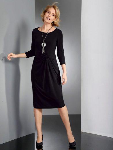 Paola Jerseykleid mit raffinierter Drapierung