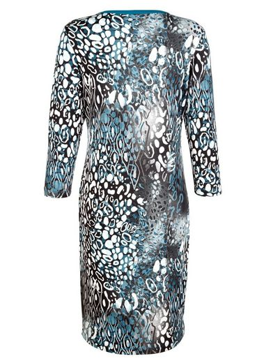 Paola Kleid mit Druckmuster
