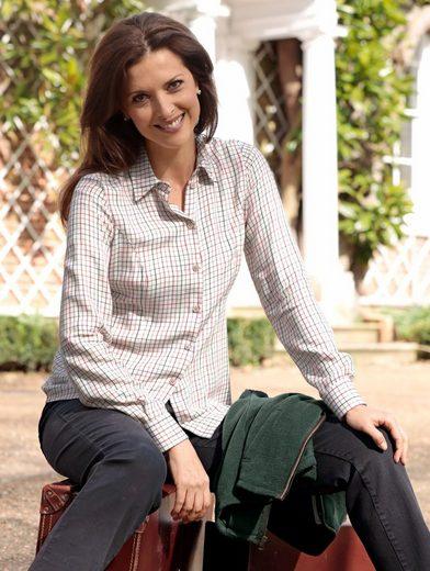 Mona Bluse mit sportivem Webkaro