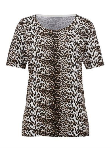 Dress In Pullover mit Animaldruck
