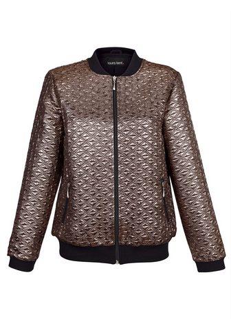Куртка из goldfarbenem ткань