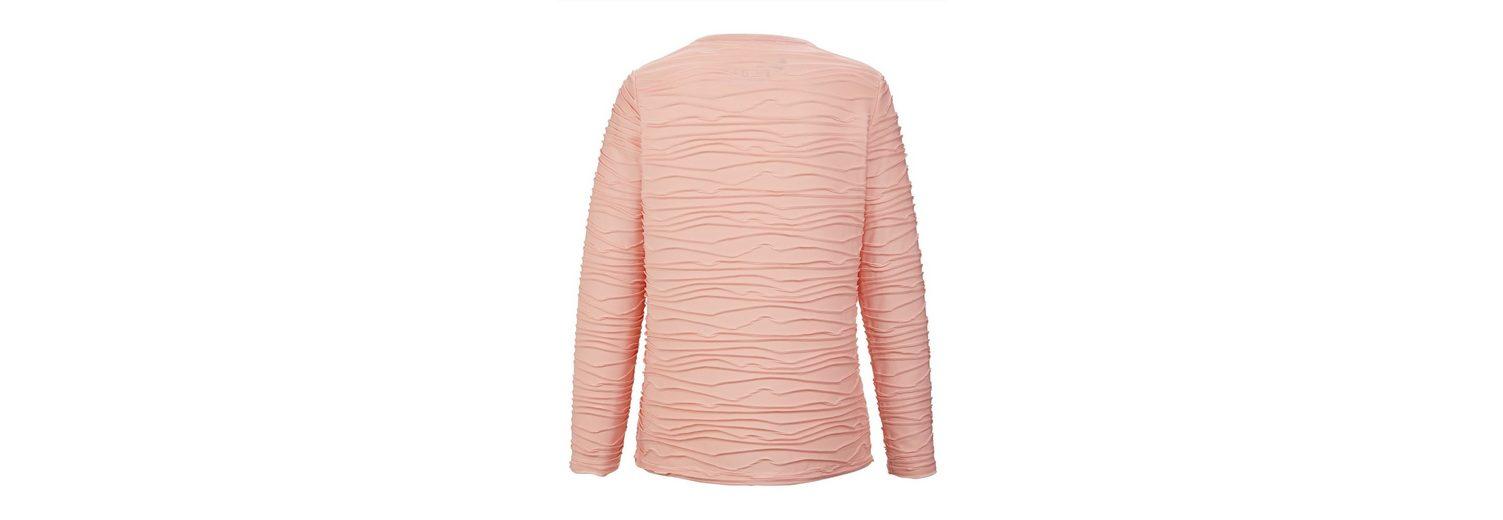 Paola Shirt mit Jaquardmuster Bester Ort Spielraum Viele Arten Von Auf Dem Laufenden Neue W6AMurjIk