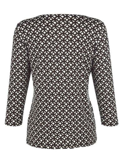 Paola Shirt mit V-förmiger Aussparung am Ausschnitt